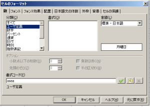 OpenOffice Calcに記入した日付から曜日を表示する関数
