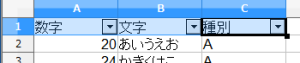 OpenOfficeCalcオートフィルタ (9)