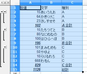 OpenOfficeCalc小計 (3)