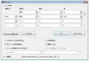 OpenOfficeCalc標準フィルタ (3)