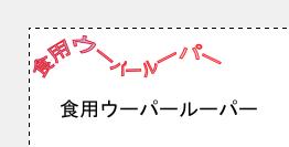 GIMPで文字をパスに合わせて描画する06