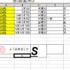 ワードパットで表を利用する