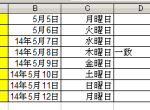 Excelのデータをコピー&ペーストでEvernoteに貼る