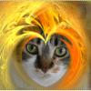 GIMPで炎エフェクトを自動生成する方法