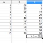 OpenOffice Calcの関数のみでセルを並び替える方法