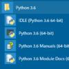 Pythonでのプログラムの組み方や実行の仕方